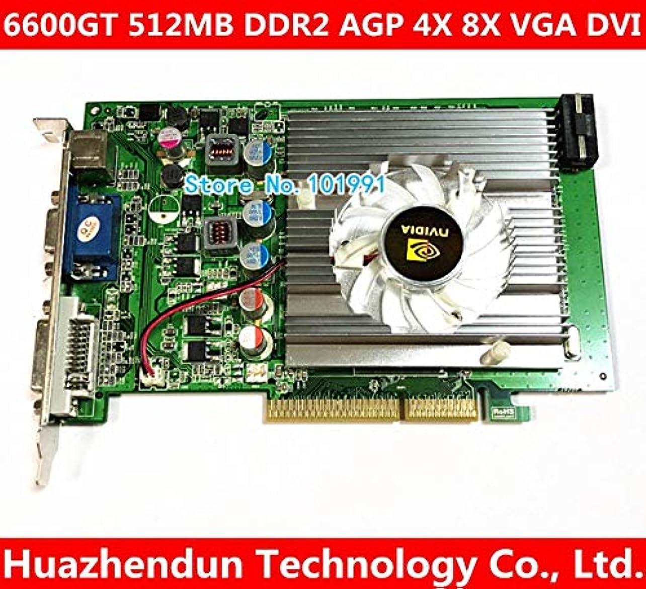 入力マンハッタンありふれたShineBear nVIDIA GeForce 6600GT 512MB DDR2 AGP 4X 8X VGA DVI グラフィックカード SNB-0F5B5FAC886C448FCFF9D88B61A696C3