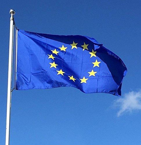 Top Brand - Bandiera dell'Unione Europea, 152 x 91 cm