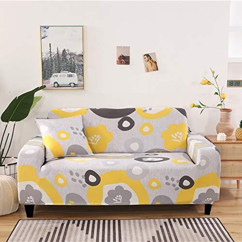 ASCV Funda de sofá elástica con patrón geométrico Fundas de sofá Todo Incluido elásticas para Sala de Estar Funda de sofá Fundas de sofá A1 1 Plaza