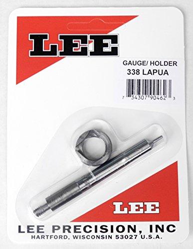 Lee Precision Reloading Gauge/Holder 338 Lapua Lee Precision Gauge/Holder 338 Lapua, Silver, Small