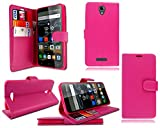 PIXFAB For Alcatel One Touch Pop 4 5051X New Pink Leather
