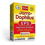 Jarrow Formulas Jarro-Dophilus EPS - 5 Billion Organisms Per Serving - 60 Enteric Coated Veggie Caps - Multi-Strain Probiotic - Intestinal & Immune Health - Up to 60 Servings