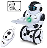 Top Race Remote Control Robot, Smart Self Balancing Robot, 5 Operating Modes, Dancing, Boxing, Driving, Loading, Gesture. 2.4Ghz Transmitter