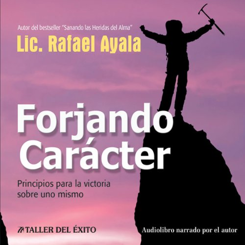 Forjando Caracter [Forging Character] audiobook cover art