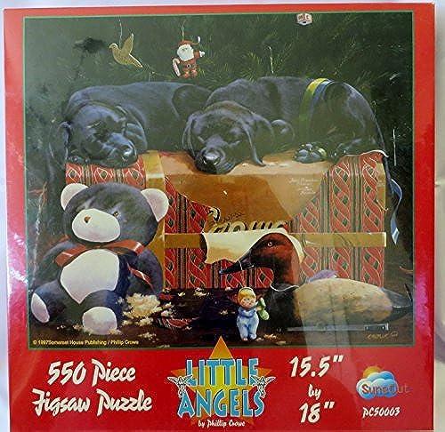 descuentos y mas Little Angels by Phillip Phillip Phillip Crowe (c1997) - 550 Piece Puzzle 15.5 X 18 by SunsOut  Sin impuestos