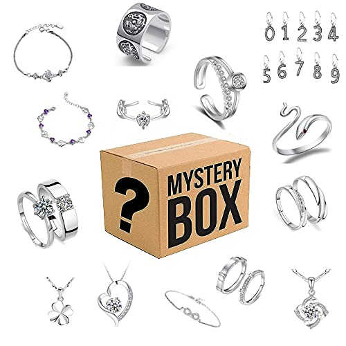 RTYUI Lucky Box Jewelry Blind Box, Estilo Aleatorio, Dale A La Novia...