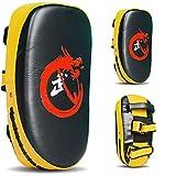 Cuero, Paos Muay Thai, De Boxeo, Pao, Patada, Escudo Taekwondo, UFC MMA K1 Entrenamiento Boxing Tailandés Jeet Kune Do 36cm*19cm*9cm