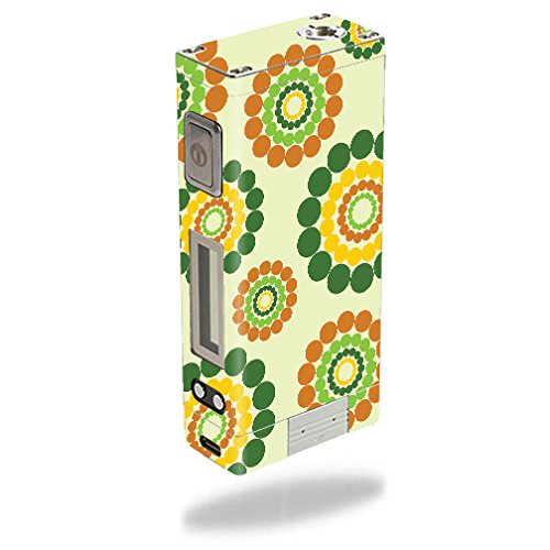 MightySkins Skin Compatible with Innokin iTaste MVP 3.0 – Hippie Flowers | Protective, Durable, and Unique Vinyl Decal wrap Cover | Easy to Apply, Remove, and Change Styles | Made in The USA