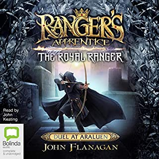The Royal Ranger: Duel at Araluen audiobook cover art