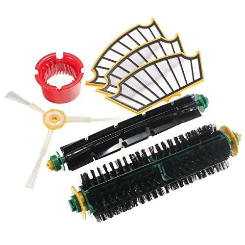 Bazaar 7 Stks Vervanging Vacuüm Onderdeel Voor Irobot Roomba 500 564 56708 Serie Stofzuiger