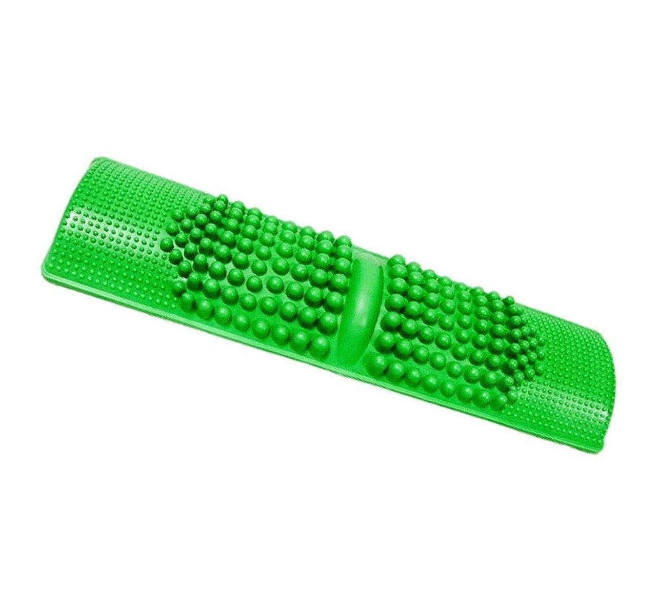 話すヒューマニスティックパンダDamine 簡単に健康維持 足つぼマッサージ BIGサイズ 足 踏み 足裏 刺激 血行促進 (グリーン)
