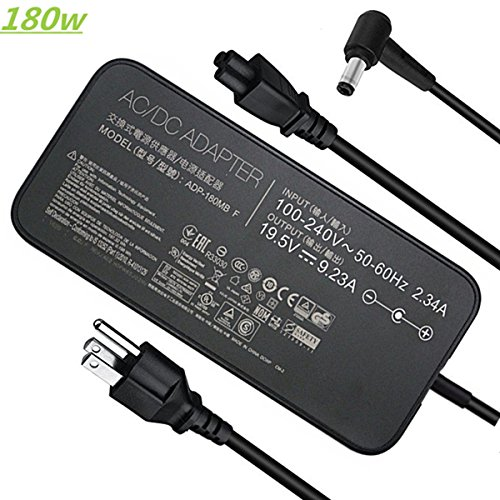 19.5V 9.23A 180W Laptop Charger for Asus ROG G750JM G751JM G750JS G-Series Gaming Laptop ADP-180MB F...