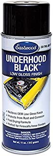 Eastwood Acrylic Underhood Black Semi Gloss Lacquer Paint Recover Aerosol 11 oz