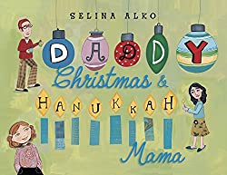 Interfaith Hanukkah books for kids show families with more than one religion.