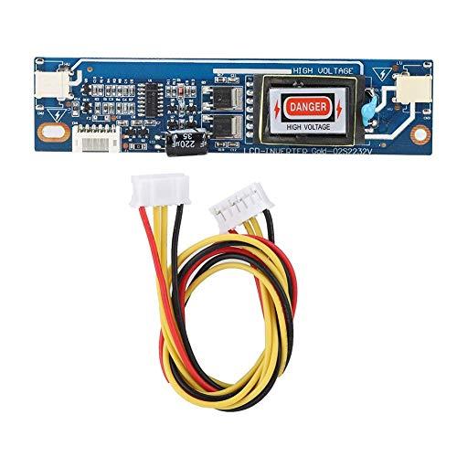 Placa inversora de alta presión - CCFL Placa inversora de alta presión de puerto grande de doble lámpara para retroiluminación de pantalla LCD de 10-22'10-28V