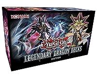 コナミ 遊戯王 Legendary Dragonデッキセット 英語版 トレーディングカードゲーム 153枚のカード