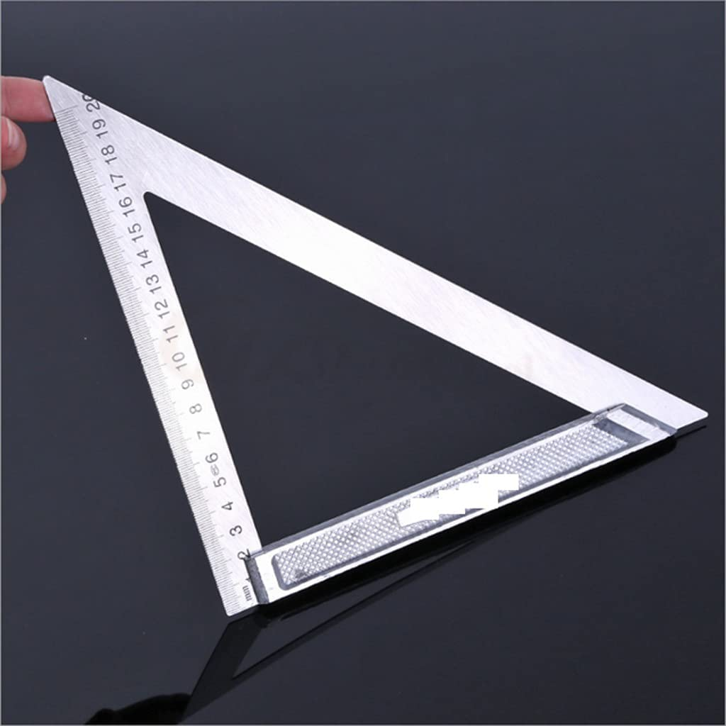 XDYQP Aluminum online shop Alloy Square Ruler W Ranking TOP5 Turning Angle Right 90