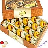 Ghasitaram Gifts Bhaidooj Gifts Bhaidooj Sweets Mawa Peda Box (400 GMS)