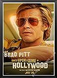 Nuevo Póster De Kraft De Película Érase Una Vez En Hollywood Impresiones Artísticas Imágenes De Decoración De Pared Vintage Póster De Quentin Tarantino A3 50X70Cm sin Marcos