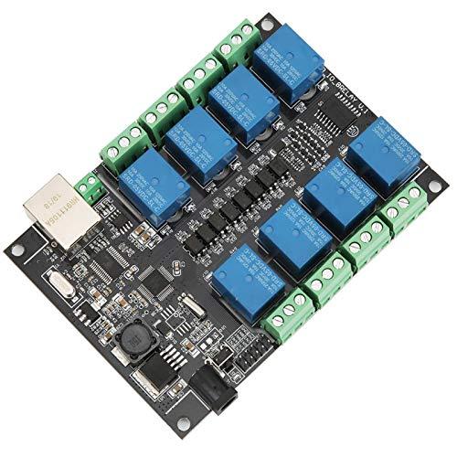 Jeanoko Tablero de Control Tablero de Controlador programable Red Industrial RJ45 para Control Remoto WiFi para Tableta