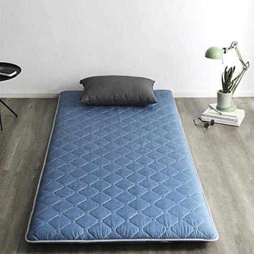 Exempel på madrass extrasäng eller gästbädd Fällbar quiltad hypoallergenisk japansk futon säng madrass tatami golv matta student sovsal transportabel futon sovrum (Färg : D, Storlek : 150 * 200cm)