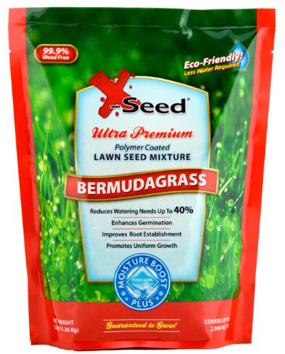 X-Seed Moisture Boost Plus Bermuda Grass Lawn Seed, 3-Pound