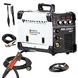 STAHLWERK MIG 135 ST IGBT - MIG MAG Schutzgas Schweißgerät mit 135 Ampere, FLUX Fülldraht geeignet,...