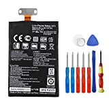 Wee 2100mAh Li-Polymer Replacement Battery for Google Nexus 4 E960, fits LG BL-T5