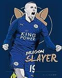 Nalana Poster Leicester City Football UH-220 Bar Living