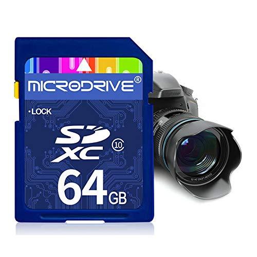 MKOKO 64 GB High Speed Class 10 SD-Speicherkarte for alle digitalen Geräte mit SD-Kartensteckplatz Dauerhaft