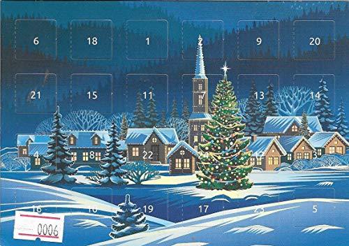 Adventskalender - Postkarte