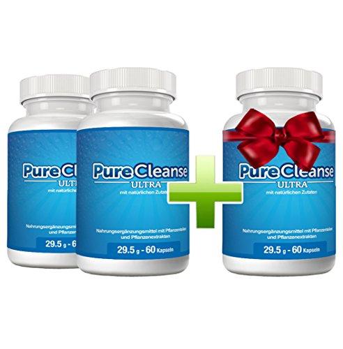 Purecleanse Ultra - Reinigung, Entschlackung und Gewichtsabnahme| Kaufe 2 Flaschen und erhalte 1 gratis dazu (3 Flaschen)
