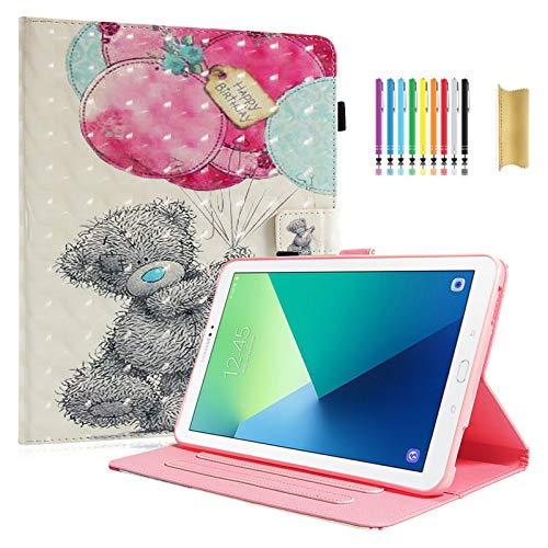 Dteck - Funda de piel sintética para Samsung Galaxy Tab 4 7.0, T230, con ranuras para tarjetas, cierre magnético, para Samsung Galaxy Tab 4 7.0 T230nu/T231/T235