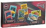 Brandsseller Caja de juegos 3 en 1 con motivos en el estilo de Cars 3 Quartett Schnipp Schnapp y memoria