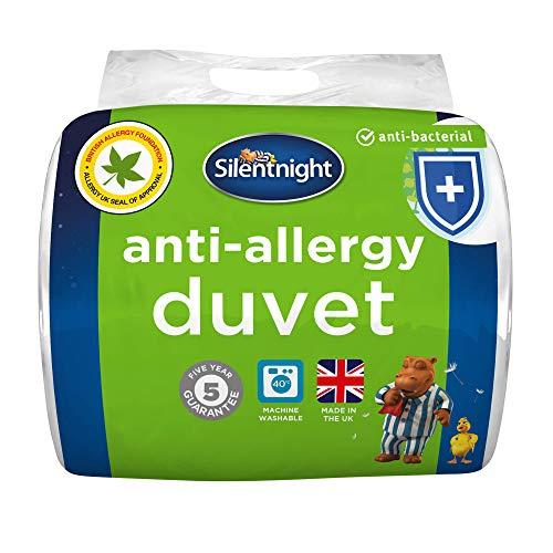 Silentnight - Bettdecke für Allergiker - Winter - Weiß - Einzel - 135 cm x 200 cm