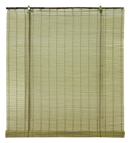 OCRES - Estor Enrollable Bambú Natural Cactus 90X175