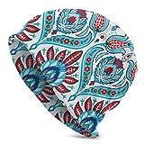 JJsister Wintermtze,Strickmtze,Beanie Mtze Colorful Pattern in Turkish Style Beanie Hat Classic Knit Hat Stretch Casual Headwear