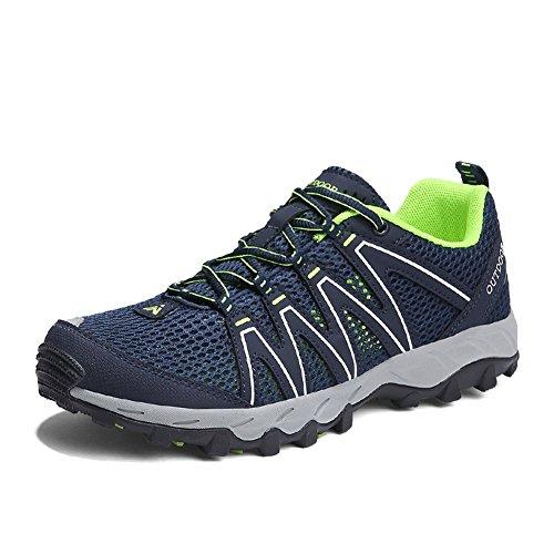Zapatillas Senderismo Hombre Mujer Zapatillas Trekking Mesh Transpirable Sneakers Casual Zapatillas de Deporte