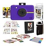 Polaroid Snap - Cámara Digital instantánea, Púrpura + Set de Regalo