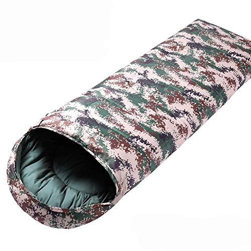 Carpa utilitaria, saco de dormir multifunción, saco de dormir con sobre de oxígeno, 2 estaciones, bolsa rectangular ultraligera de 2 kg para adultos, junior, acampada al aire libre, senderismo, verd