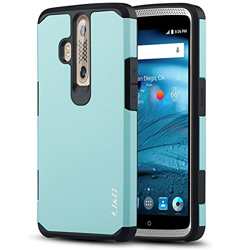 ZTE Axon Pro Case, J&D [Heavy Duty Protection] [Dual Layer] Hybrid Shock Proof Fully Protective Rugged Case for ZTE Axon Pro - Mint
