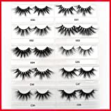 25mm Lashes Mink Eyelashes 3D Mink Strip Eyelashes Long Dramatic Full Lashes Handmade Makeup False Eyelashes Maquiagem (E82)
