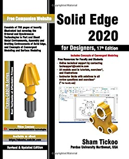 Solid Edge 2020 for Designers, 17th Edition