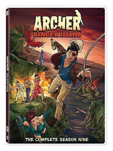Archer: Danger Island - Season 9 [Italia] [DVD]