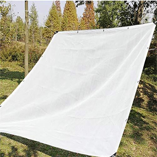 Filet de protection Filet ombrage Filet potager Auvent extérieur blanc à 90% for protection solaire, toile de protection anti-UV |Couverture en tissu maillé robuste et durable avec oeillets |pour jard