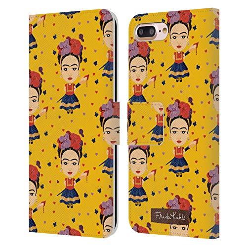 Head Case Designs Licenza Ufficiale Frida Kahlo Modello 2 Bambola Cover in Pelle a Portafoglio Compatibile con Apple iPhone 7 Plus/iPhone 8 Plus