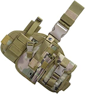Universal Outdoor Tactical Holster Military Molle Hip Waist Belt Bag Wallet Pouch Purse Phone Case with Zipper