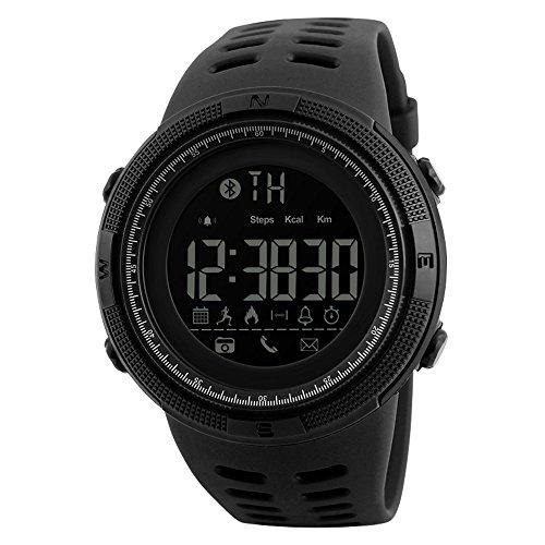 Bluetooth Impermeable Smartwatch para Android/iOS Teléfonos Luminoso Deportes Digital...