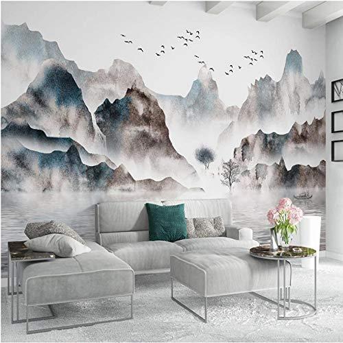 Wuyii Gebruikergedefinieerde 3D muurschildering behang afdrukken Moderne woonkamer bank Tv slaapkamer mode kleurrijke lederen foto achtergrond decor muur papierrollen 200 x 140 cm.