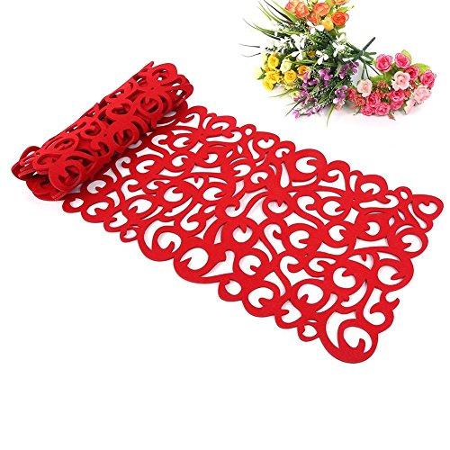 Camino de mesa, la flor hueco Tischband Mantel almohadilla de fondos de pantalla Coaster Decorar su habitación...